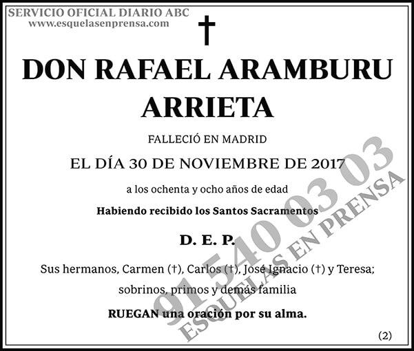 Rafael Aramburu Arrieta